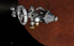 SFTP - Orion Interplanetary Ship by Shroomworks