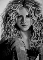 SHAKIRA by AngelasPortraits