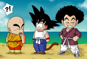 Dragon Ball - What if? The new disciple by Miguelhan