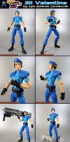 Custom MvsC Jill Valentine by KyleRobinsonCustoms