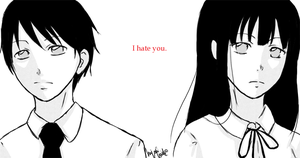 Hourou Musuko - I hate you. by Hiyori-Fuuko