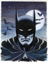 BATMAN PORTRAIT 2011 by BillReinhold