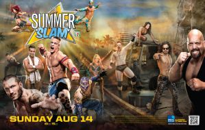 WWE Summer Slam 2011 Wallpaper by DecadeofSmackdownV2