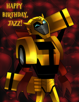 Birthday Bumblebee by ANDREAc