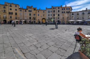 afternoon in Lucca by Rikitza