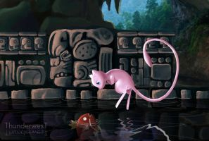 Mayan mew by Thunderwest