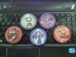 Touhou badge set 001 by xing0206