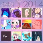 Summary of art 2014 by Anolee