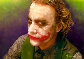 The joker- Speed Painting by MOROTEO56