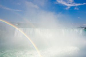 Niagara Falls 003  Double Rainbow by FairieGoodMother