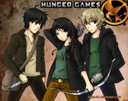 the hunger games by ichan-desu