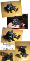 Toothless figurine by Zanten