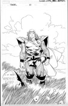 thor 10 cover by MarkMorales
