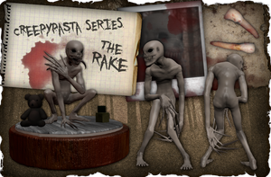 Creepypasta Series 4: The Rake by dimelotu