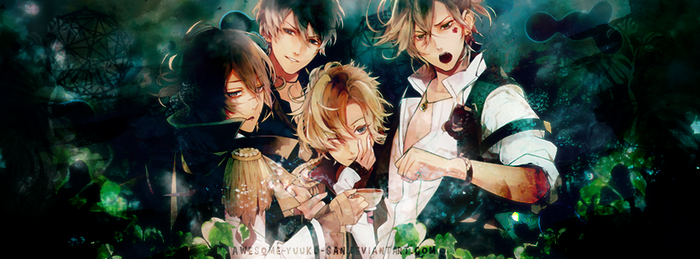 260417//Diabolik Lovers MORE,BLOOD [Cover] by Awesome-Yuuko-San