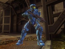 Caboose in Halo 4 by KATTALNUVA