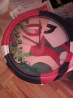 Harley and Ivy clock by cutiechibi