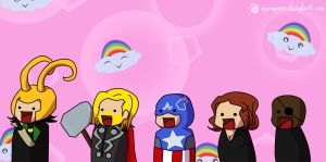 9gag: the Babyvengers by Dulcamarra