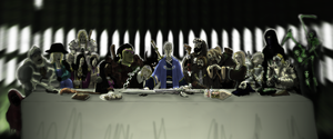 Ravenloft Last Supper by orcbruto