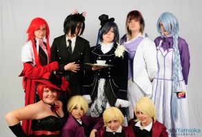 Black Butler Group by Amber-Fucken-Sweet