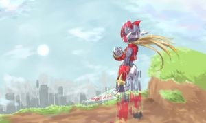 Mega Man Zero Completed by angel-oni13