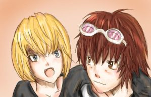 -D.N- .:Matt and Mello:. by DecemberComes