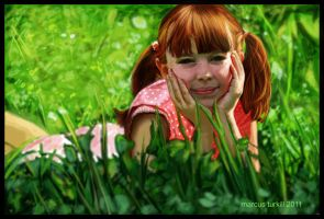 In the garden by turkill