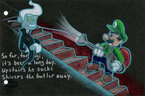 Luigi's Mansion 8 by TheFalseLegend