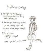 Pen Challenge by angelliyesmadirector
