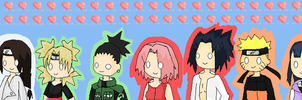 Naruto Couples COLORED by heyitsjulie