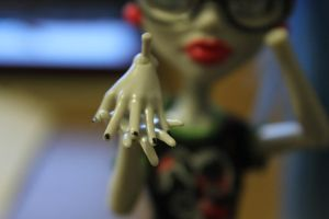Ghoulias Manicure 2/3 by Sunny-X-Ray