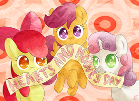 Happy Hearts and Hooves Day! by bubblehun