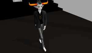 MMD Tavros -DOWNLOAD-end- by DizzySweaterKitty