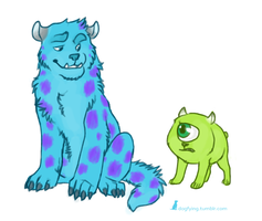Monster dogs by FourDirtyPaws