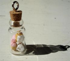 cupcakes in a jar by MotherMayIjewelry