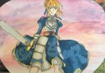 Saber: Fate series (background) by Tetra1090