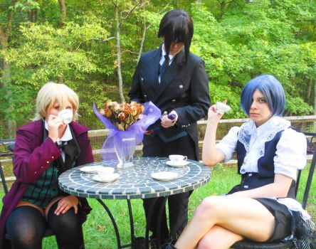 Tea in the Garden by Chemical-King-twoon