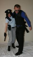 Jill and Wesker 6 by MajesticStock