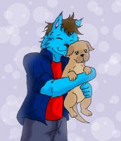 I love puppies :ARTTRADE: by paladin095