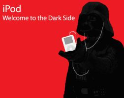 Darth Vader iPod by RainbowBubble