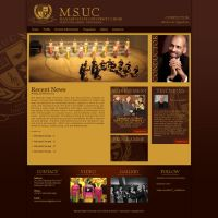 MSUChoir Website Prototype by farlydapamanis