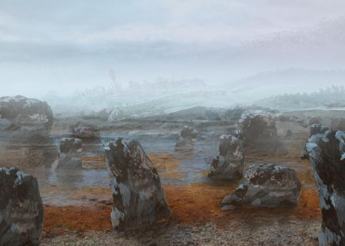 Standing Stones by CrysDF