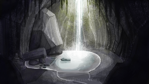 Little Waterfall by Immonia