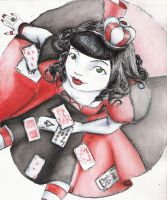 queen of hearts by rebelAnnie