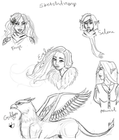 Sketchdump 2 by Chloe-The-Great
