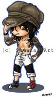 Tommy Lee Chibi by SavanasArt