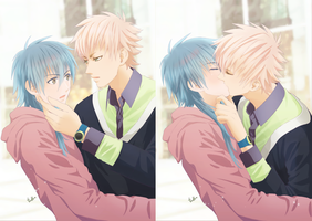 Noiz X Aoba by chienu