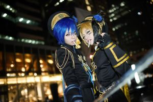Vocaloid : Arrest Rose - Kaito by miyoaldy