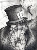 The cardplayer by Winterquist