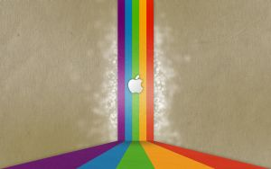 wallpaper 17 Apple by zpecter